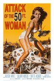 Attack of the 50 ft Woman Print
