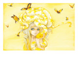 Yuuta Posters by Camilla D'Errico
