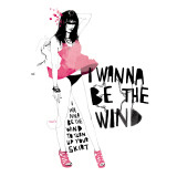The Wind Giclee Print by Manuel Rebollo