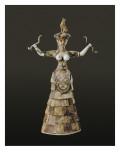 Snake Goddess or Household Goddess Posters