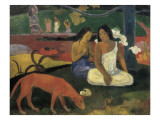 Arearea Prints by Paul Gauguin