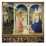 The Annunciation (panel) Pósters por  Fra Angelico