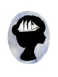 Boat on Your Mind Giclee Print by Charmaine Olivia