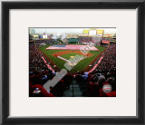 Angel Stadium 2010 Opening Day Framed Photographic Print