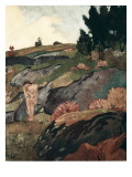 Breton Eve or Melancholy Prints by Paul Serusier