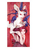 Bambi's Egg Child Giclee Print by Camilla D'Errico
