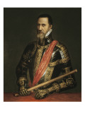 Portrait of the Duke of Alva Giclee Print by  Titian (Tiziano Vecelli)