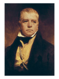 Sir Walter Scott Poster by Sir Henry Raeburn