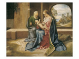The Holy Family Posters by  Giorgione