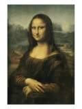 The Mona Lisa or La Gioconda Reproduction procédé giclée par Leonardo da Vinci
