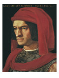 Portrait of Lorenzo the Magnificent Print by Agnolo Bronzino