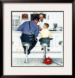 """Runaway"", September 20,1958 Framed Giclee Print by Norman Rockwell"