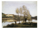 Ville D&#39;Avray Giclee Print by Jean-Baptiste-Camille Corot
