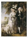 Mr and Mrs William Hallett ('The Morning Walk') Plakater av Gainsborough, Thomas