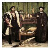 Die Botschafter Poster von Hans Holbein the Younger