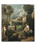 The Tempest Affiche par  Giorgione
