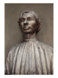 Portrait of Niccol&#242; Machiavelli Giclee Print by Antonio Pollaiolo