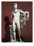 Apollo Belvedere Giclee Print by Leochares