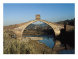 Pont Del Diable (Evil's Bridge) over the Llobregat River, with Gothic Central Arch on a Roman Basis Prints