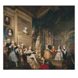 Performance of the Indian Emperor Prints by William Hogarth