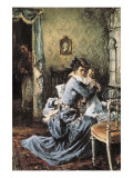 Encounter of Anna with Her Son Reproduction procédé giclée par Aleksei Gavrilovich Venetsianov