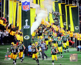 Green Bay Packers Super Bowl XLV Introduction Photographie
