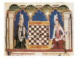 Libro De Los Juegos (Book of Games) Print by  Alfonso X