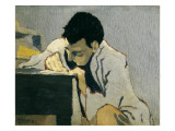 Portrait of Lugn&#233;-Po&#235; Giclee Print by Edouard Vuillard