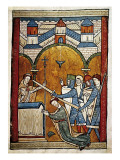 Scene from the Murder of Saint Thomas Becket Premium Giclee Print by John of Salisbury