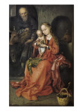 Holy Family (Die Heilige Familie) Giclee Print by Martin Schongauer