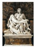 Pieta Kunstdrucke von  Michelangelo