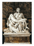 Pieta Art by  Michelangelo