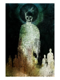 The Dead Walk Giclee Print by Alex Cherry
