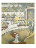 The Circus Reproduction procédé giclée par Georges Seurat