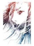 Minerva Giclee-tryk i høj kvalitet af Alex Cherry