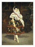 Lola De Valence Prints by Édouard Manet