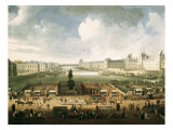 The Louvre and the Seine from Pont Neuf Giclee Print
