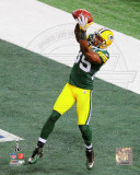 Greg Jennings Touchdown from Super Bowl XLV Photo
