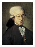 Mozart, Wolfgang Amadeus (1756-1791) Giclee Print