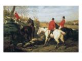 Hunt Scenes Print by Edward Benjamin Herberte