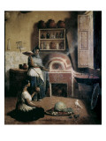 Cocina Poblana (Puebla&#39;s Food Culture) Giclee Print by Edouard Pingret