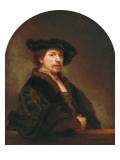 Self-Portrait at the Age of 34 Giclee Print by  Rembrandt van Rijn