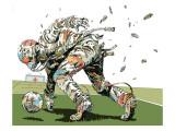 Dog Fights OCC Kunst av  HR-FM