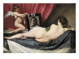 The Rokeby Venus Reproduction procédé giclée par Diego Velázquez