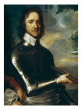 Oliver Cromwell Premium Giclee Print by Robert Walker