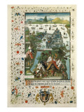 The Turkish Siege of Constantinople (1453) Giclee Print
