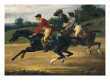 Horse Race Prints by Théodore Géricault