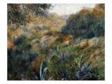 Algerian Landscape: the Ravine De La Femme Savage Plakater af Pierre-Auguste Renoir