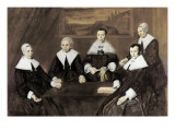 Regentesses of the Old Men's Alms House Prints by Frans Hals