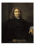 Portrait, Presumed to Be Rene Descartes Giclee Print by Sebastien Bourdon